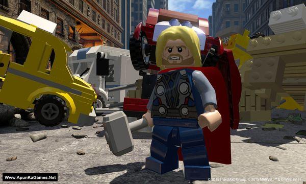 Lego Marvel's Avengers Screenshot 1