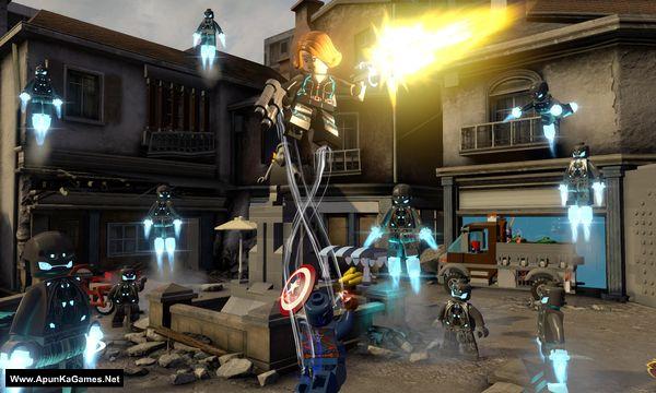 Lego Marvel's Avengers Screenshot 2