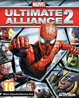 Marvel Ultimate Alliance 2 Cover, Poster