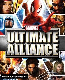 Marvel: Ultimate Alliance Cover, Poster