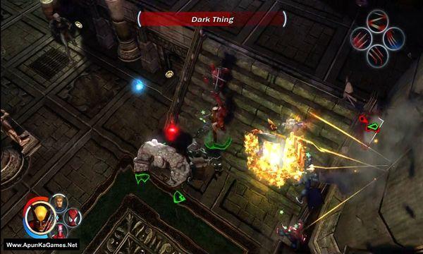 Marvel: Ultimate Alliance Screenshot 1