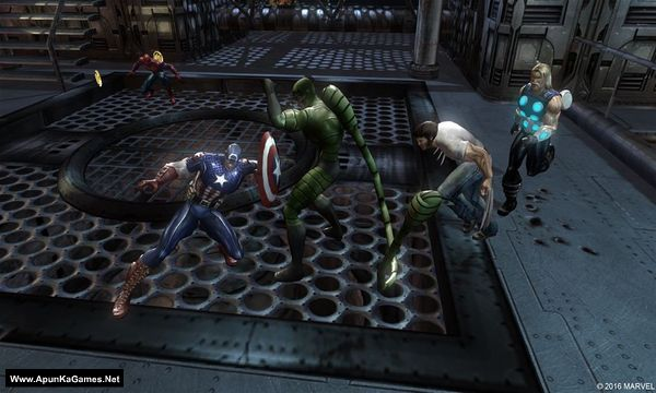Marvel: Ultimate Alliance Screenshot 2