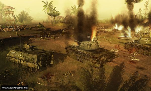 Men of War: Vietnam Screenshot 1