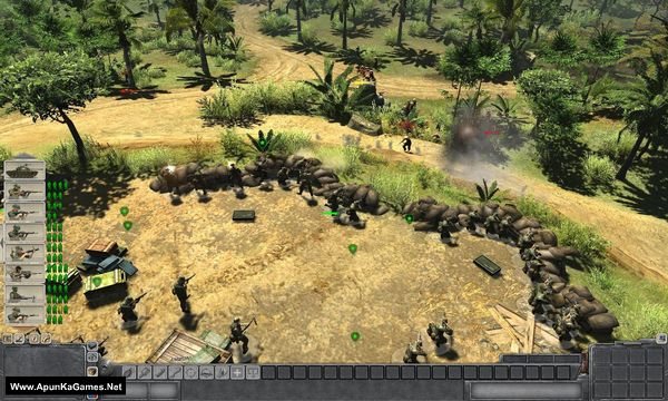 Men of War: Vietnam Screenshot 2
