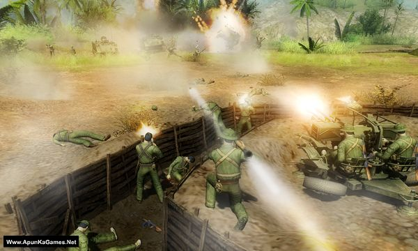 Men of War: Vietnam Screenshot 3