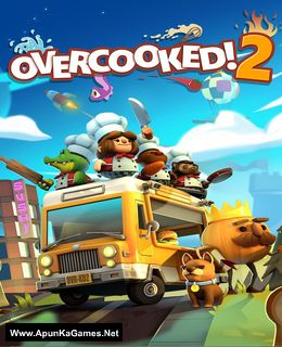 Overcooked 2 Cover, Poster