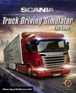 Scania Truck Driving Simulator Cover, Poster