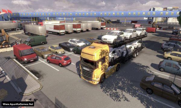 Scania Truck Driving Simulator Screenshot 1