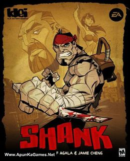 Shank 1 Cover, Poster