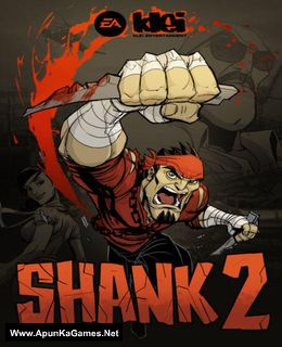 Shank 2 Cover, Poster