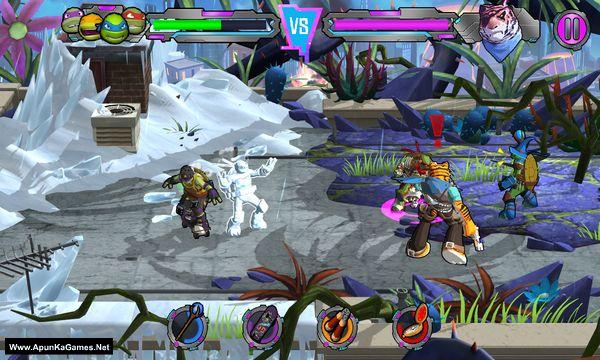 Teenage Mutant Ninja Turtles: Portal Power Screenshot 1