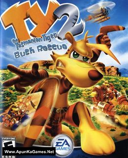 Ty the Tasmanian Tiger 2: Bush Rescue Cover, Poster