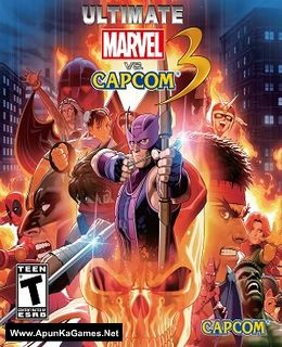 Ultimate Marvel vs. Capcom 3 Cover, Poster