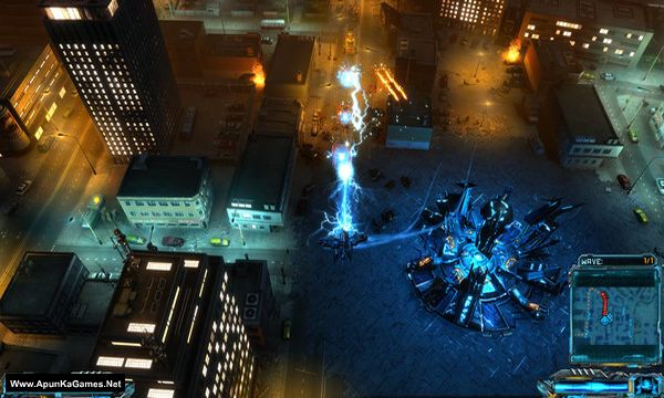 X-Morph: Defense Survival of the Fittest Screenshot 1