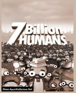 7 Billion Humans Cover, Poster