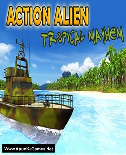 Action Alien: Tropical Mayhem Cover, Poster