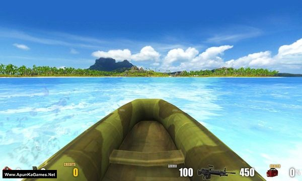 Action Alien: Tropical Mayhem Screenshot 2