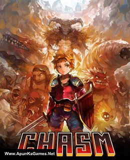 Chasm Cover, Poster