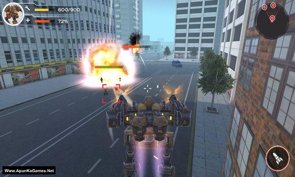 Full Metal Renegade Screenshot 1