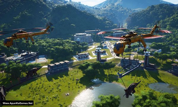 Jurassic World Evolution Screenshot 3, Full Version, PC Game, Download Free