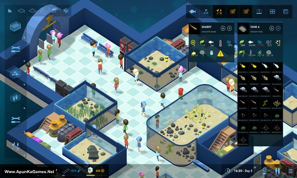 Megaquarium Screenshot 1, Full Version, PC Game, Download Free