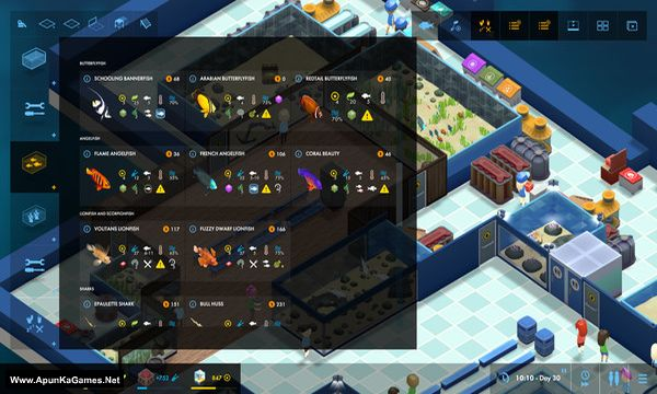 Megaquarium Screenshot 3, Full Version, PC Game, Download Free