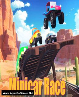 MiniCar Race Cover, Poster