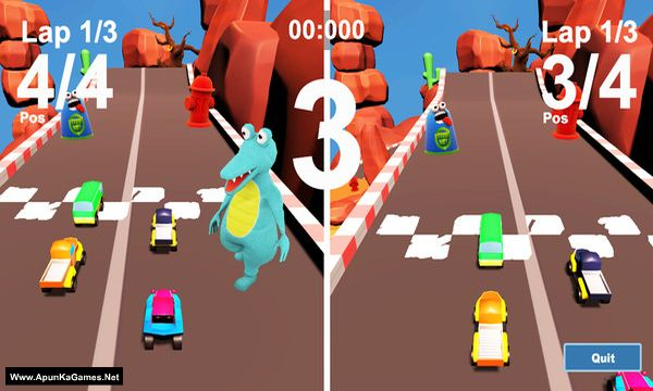 MiniCar Race Screenshot 1