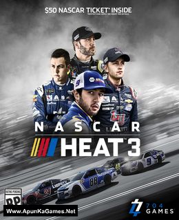 NASCAR Heat 3 Cover, Poster