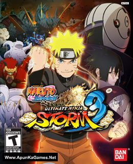 Naruto Shippuden: Ultimate Ninja Storm 3 Cover, Poster, Full Version, PC Game, Download Free
