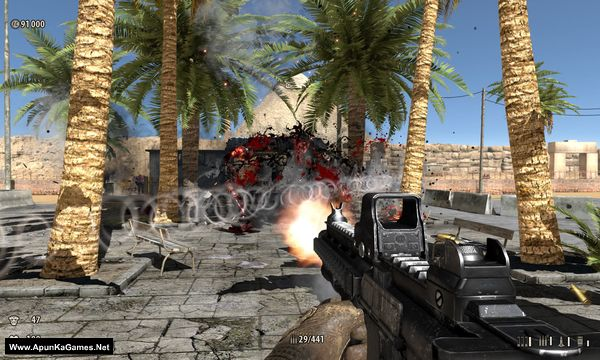 Serious Sam: The Second Encounter | Full PC Game | Size: 577 MB In the near future, during the first interstellar travels, humans encounter great evil roaming the galaxy for last few eons. The evil being is an incarnation of the last of the ancient immortals named Tah-Um (or in English – Notorious Mental).