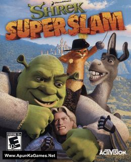 Shrek SuperSlam Cover, Poster, Full Version, PC Game, Download Free