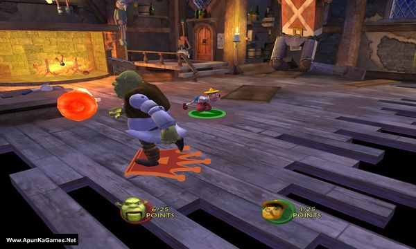 Shrek SuperSlam Screenshot 2, Full Version, PC Game, Download Free