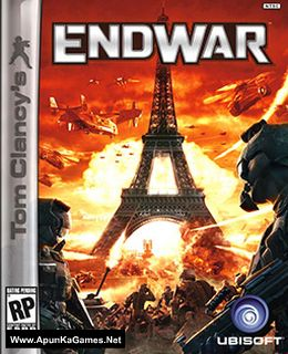Tom Clancy's EndWar Cover, Poster, Full Version, PC Game, Download Free