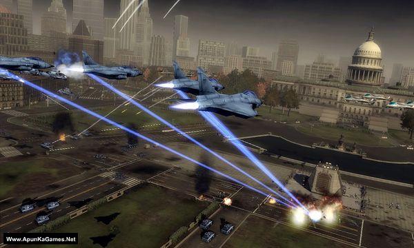 Tom Clancy's EndWar Screenshot 1, Full Version, PC Game, Download Free