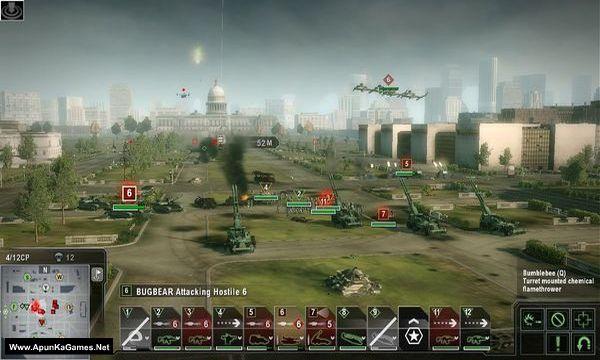 Tom Clancy's EndWar Screenshot 2, Full Version, PC Game, Download Free