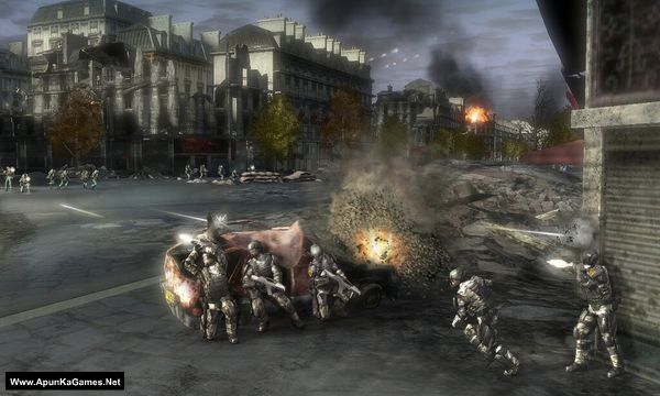Tom Clancy's EndWar Screenshot 3, Full Version, PC Game, Download Free