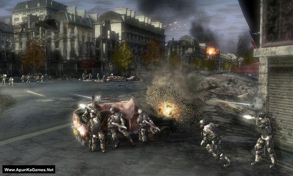 Tom Clancy's EndWar Screenshot 3, Full Version, PC Game, Download Free