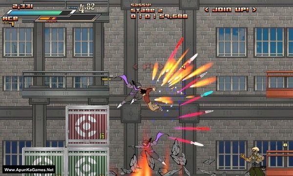 Aces Wild: Manic Brawling Action! Screenshot 2, Full Version, PC Game, Download Free