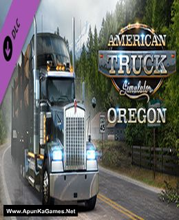 American Truck Simulator: Oregon Cover, Poster, Full Version, PC Game, Download Free