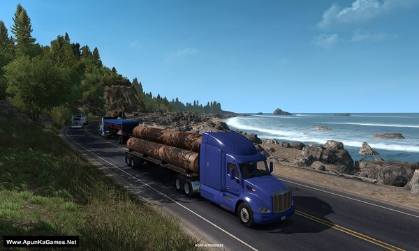 American Truck Simulator: Oregon Screenshot 1, Full Version, PC Game, Download Free