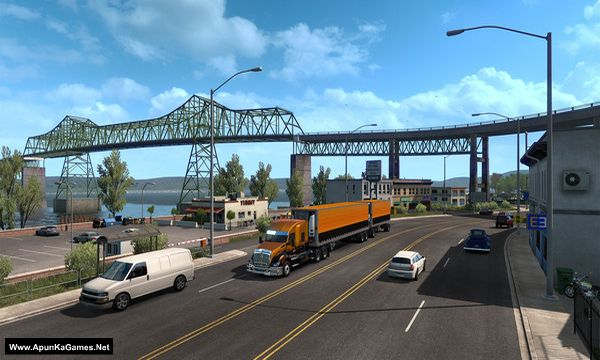 American Truck Simulator: Oregon Screenshot 2, Full Version, PC Game, Download Free