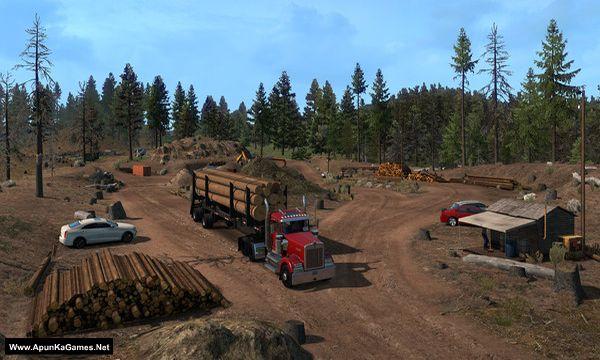 American Truck Simulator: Oregon Screenshot 3, Full Version, PC Game, Download Free