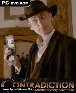 Contradiction: Spot the Liar! Cover, Poster, Full Version, PC Game, Download Free