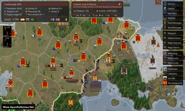 Dominions 5: Warriors of the Faith Screenshot 3, Full Version, PC Game, Download Free