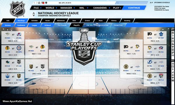 Franchise Hockey Manager 5 Screenshot 1, Full Version, PC Game, Download Free
