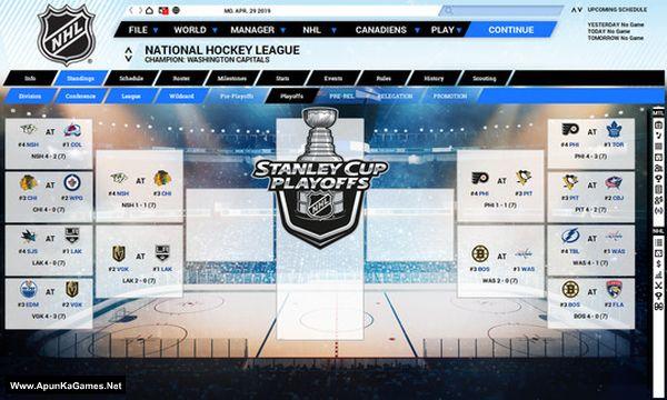 Franchise Hockey Manager 5 Screenshot 1, Full Version, PC Game, Download Free