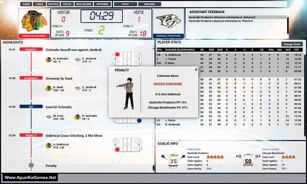 Franchise Hockey Manager 5 Screenshot 2, Full Version, PC Game, Download Free