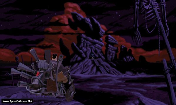 Full Throttle Remastered Screenshot 2, Full Version, PC Game, Download Free