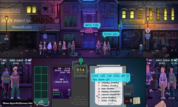 Not Tonight Screenshot 1, Full Version, PC Game, Download Free